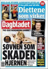 Faksimile: Dagbladet