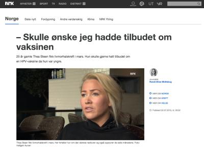 NRK, JULI 2015