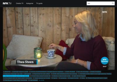 DAGSREVYEN, NRK, SEPTEMBER 2015