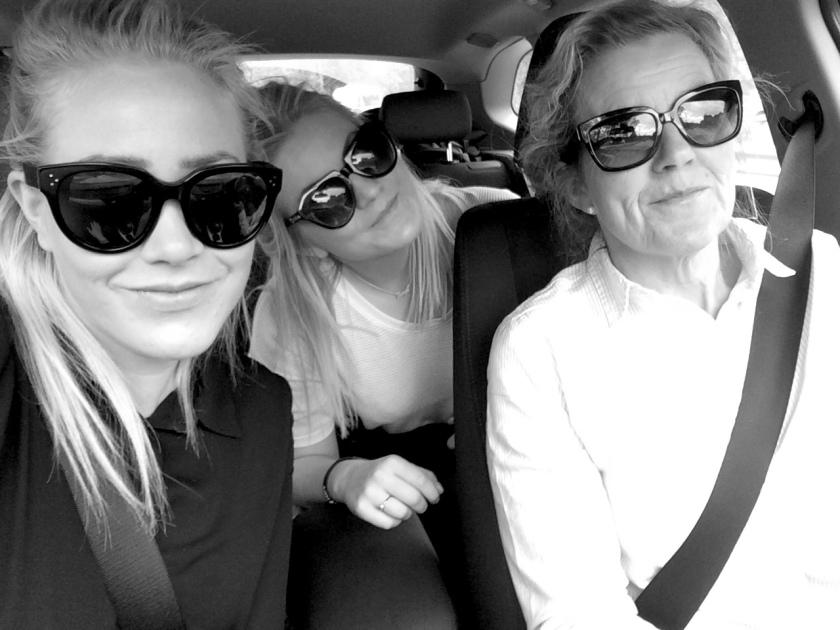 BGO-SVG by car, for siste gang på lenge. Med søster & mor.